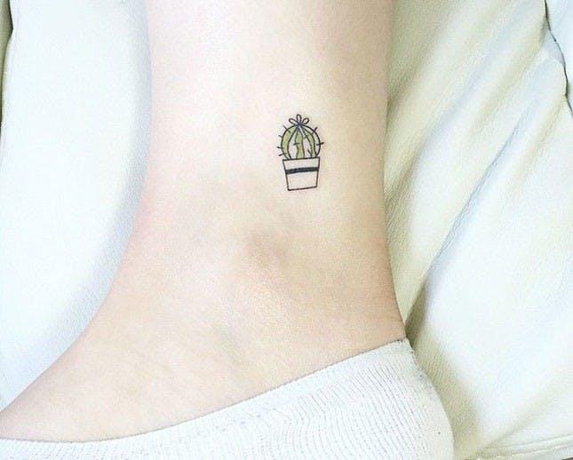 Tiny Cactus Tattoo - Tattoo | Katalay.net