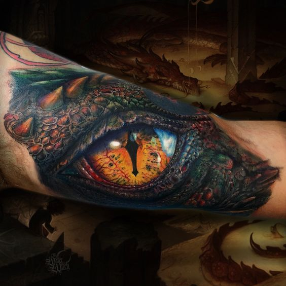 Dragon Eye Tattoo