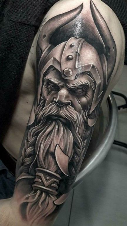 Viking Tattoo For Men