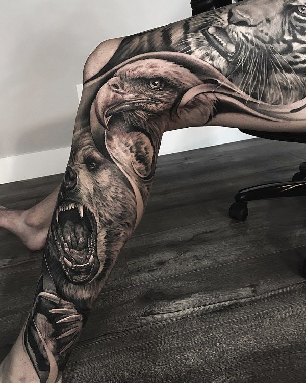 9 Realistic Tattoos by Greg Nicholson